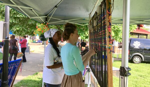 Northside community members weaving social fabric together